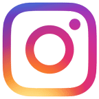 Instagram colour camera logo icon