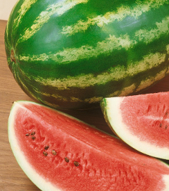 Watermelon 'Crimson Sweet'  - Cucumis melo